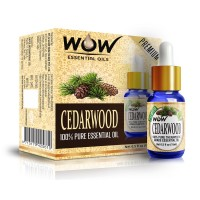 Wow Essential Cedarwood Oil - 15 Ml