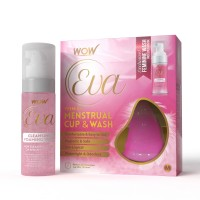 Wow Eva Reusable Menstrual Cup & Wash - Under 30 Year