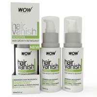 Wow Hair Vanish Sensitive Bikni Zone & Underaram Body Hair Retardant Just 4-6 Weeks Pack of 3 - 100ml X 3