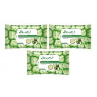 Zuci Cucumber Mint Wet Wipes Pack Of 3