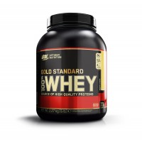 Optimum Nutrition 100% Whey Gold Standard - Banana Cream - 5 Lbs