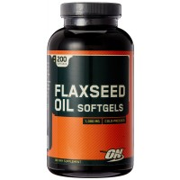 Optimum Nutrition Flaxseed Oil - 200 Softgels