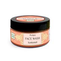 Auravedic Clear Radiance Pulpy Face Wash with kumkumadi