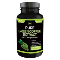 Nutravigour Pure Green Coffee Extract 50% Gca 60 Capsules