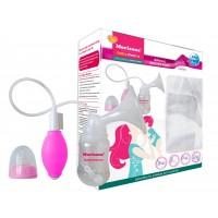 Morisons Baby Dreams Manual Breast Pump - Classic Pink