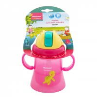 Morisons Baby Dreams Aqua Straw Sipper - Pink