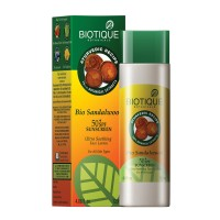 Biotique Bio Sandalwood Ultra Soothing Face Lotion 50+ SPF Sunscreen