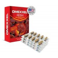 ExxelUSA Omexxel Reishi Mushroom Extract Plus Omega