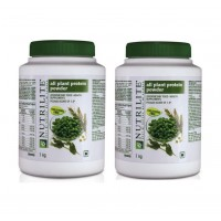 Amway Nutrilite All Plant Protein- 1kg - Pack Of 2