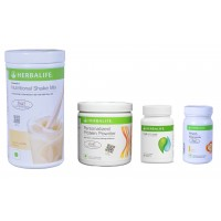 Herbalife Weight Loss Pack- French Vanilla, Cell-U-Loss, Protein Powder & Lemon