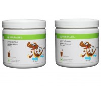Herbalife Dinoshake Children's Nutritional Drink Mix Chocolicious - 500 grms, Pack of 2