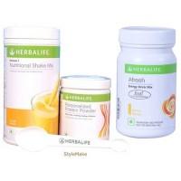 Herbalife Weight Loss Combo - Mango Protein Powder & Afresh Peach