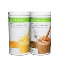 Herbalife Formula 1 Nutritional Shake Mix Mango & Dutch Chocolate - Pack of 2