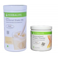 Herbalife Weight Loss Combo - French Vanilla & Protein Powder