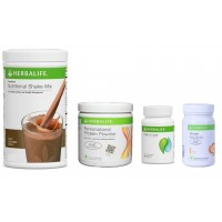 Herbalife Weight Loss Pack- Dutch Chocolate, Cell-U-Loss, Protein Powder & Ginger