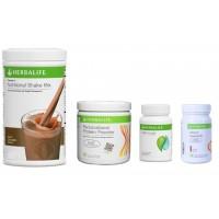 Herbalife Weight Loss Pack- Dutch Chocolate, Cell-U-Loss, Protein Powder & Elaichi