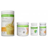 Herbalife Weight Loss Pack- Orange Cream, Cell-U-Loss, Protein Powder & Peach