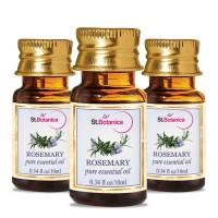 St.Botanica Rosemary Pure Aroma Essential Oil - 10ml x 3