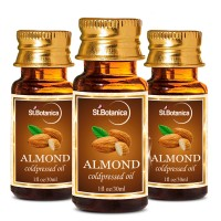 St.Botanica Almond Pure Coldpressed Carrier Oil - 30ml x 3
