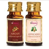St.Botanica Argan Carrier Oil + Avocado Carrier Oil, 30ml Each - 30ml X 2