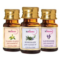 St.Botanica Lavender + Rosemary + Ylang-Ylang Pure Essential Oil - 10ml X 3