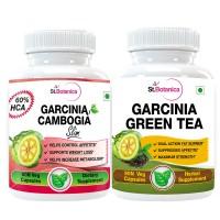 St.Botanica Garcinia Green Tea + Garcinia Cambogia Slim - 60 Veg Caps.
