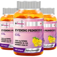 St.Botanica Evening Primrose Oil 1000 mg - 3 Bottles