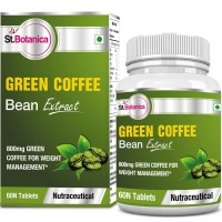 St.Botanica Green Coffee Bean Extract 800mg - 60 Tablets