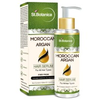 St.Botanica Moroccan Argan Hair Serum For All Hair Types & Beard