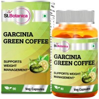 St.Botanica Garcinia Green Coffee 500mg Extract - 90 Veg Caps