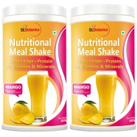 St.Botanica Nutritional Meal Replacement Shake, Mango - 500g x 2