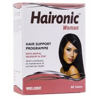 West Coast Haironic Woman Hair Support Programme 60 Tablets