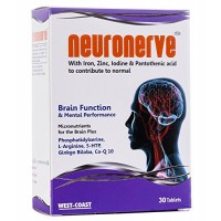 West Coast Neuronerve With Iron, Zinc, Iodine & Pantothenic Acid 30 Tablets