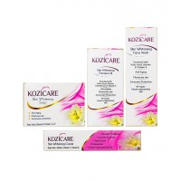 West Coast Kozicare Skin Whitening Kit (Facewash+Soap+Cream+Oil)