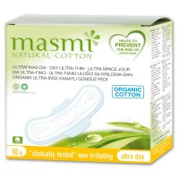 Masmi Organic Sanitary Pads Day Wings Indvidually Wrapped