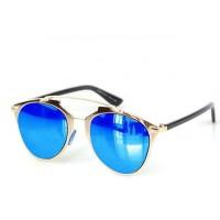 Zuri Golden Bridge Blue Lens Sunnies