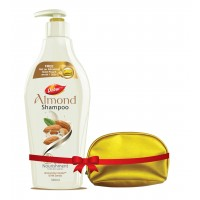 Dabur Almond Intense Nourishing Shampoo + Free Gold Pouch