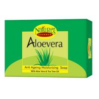 Nature's Essence Aloevera Moisturizing Bar With Aloe Vera Extract - Set of 3+1 Free