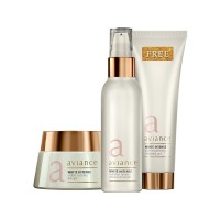 Aviance White Intense Visible Radiance Day Gel + White Intense Radiance Revive Advanced Serum and Get White Intense Ultra Brightening Cleansing Gel Free