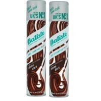 Batiste Dry Shampoo Plus Instant Hair Refresh Divine Dark For Deep Dark Brown Hair (Buy 1 Get 1 Free)