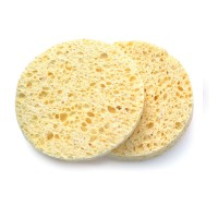 Basicare Natural Cellulose Cleansing Sponges Round