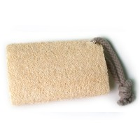Basicare Loofah Body Scrubber With Rope