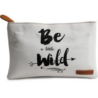 DailyObjects Be A Little Wild Carry-All Pouch Medium