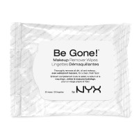 NYX Cosmetics Be Gone! Makeup Remover Wipes