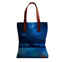 DailyObjects Blue And Beautiful Tote Bag