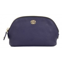 Eske Sidonia Navy Blue Cosmetic Pouch