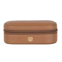 Eske Demi Cognac Cosmetic Case