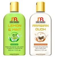 Man Arden Lemon & Mint + Arabian Oudh Shower Gel