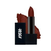 Nykaa So Matte Nude Lipstick - Coffee Mousse 27M