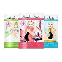 MaskerAide Pre-Party Prep +  I Don't Wanna Grow Up +  Detox Diva Facial Sheet Mask (Pack of 3)
